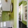 Вітальня в стилі лофт нью-йоркської квартири