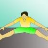 Як зробити стрибок ноги нарізно