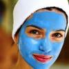 Маски для обличчя з блакитної глини